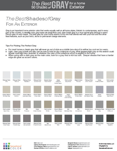 50 Shades of Gray Home Exterior Page 2