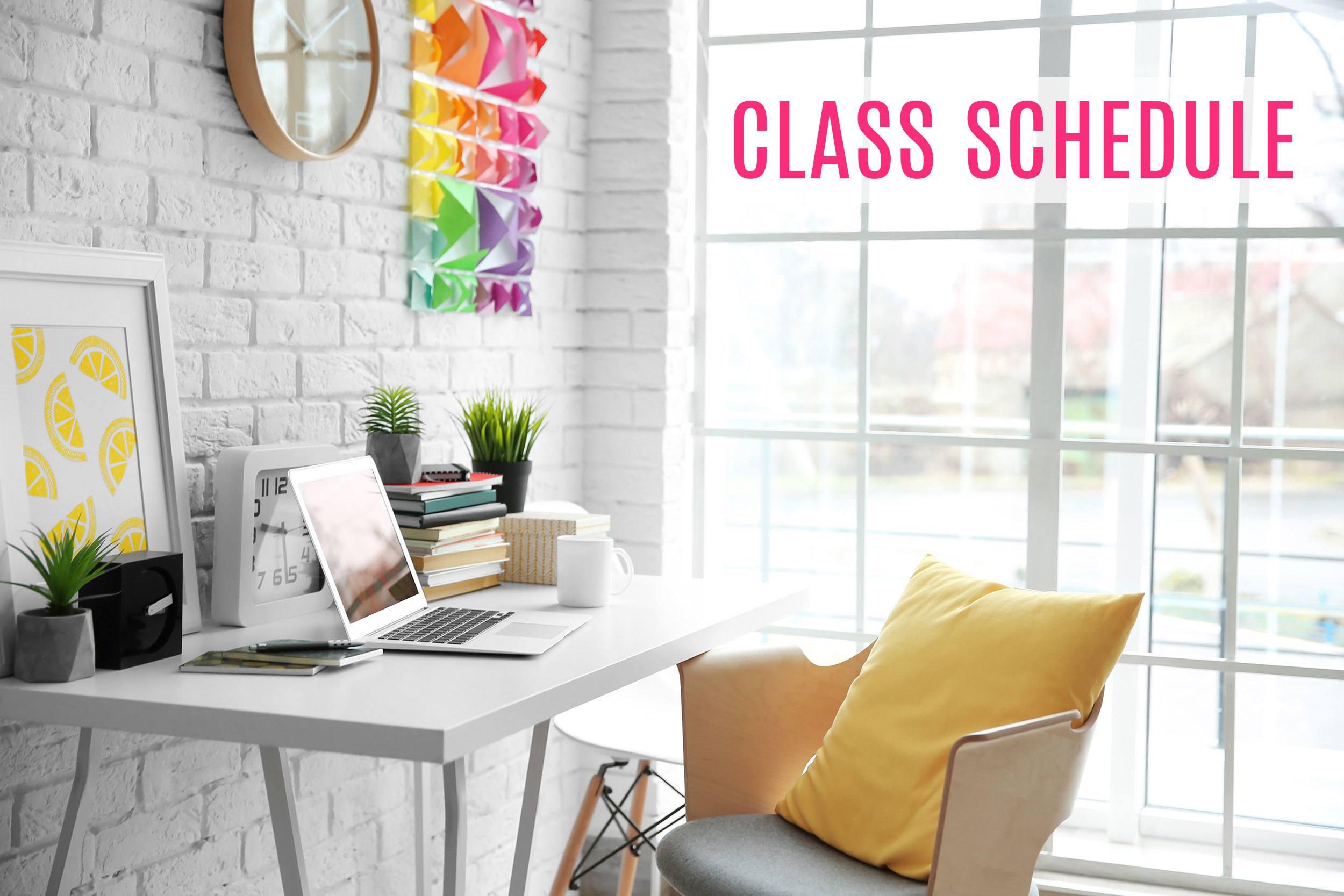 Color Classes Schedule